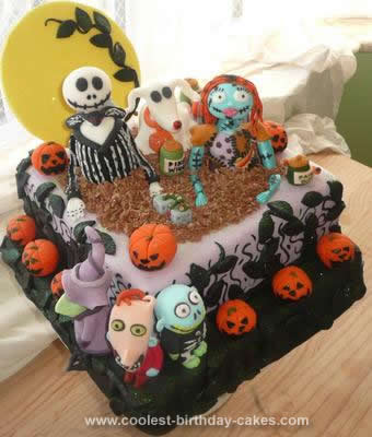Coolest Nightmare Before Christmas Cake