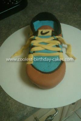 Coolest Nike Shoe Cake