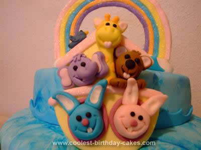 HomemadeNoah's Arc Cake