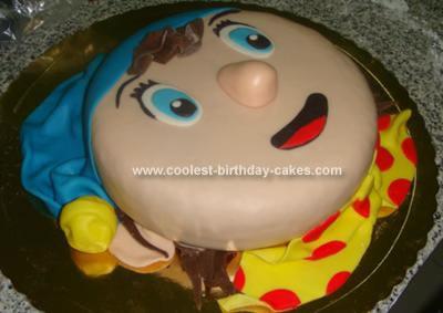 Homemade Noddy Birthday Cake