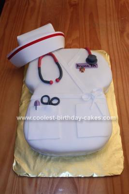 Coolest Nursing Cake