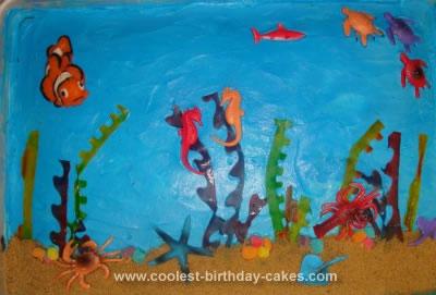 Homemade Ocean Cake