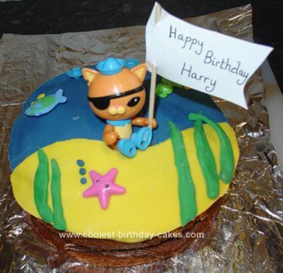 Admirable Coolest Octonaut Kwazii Cake Funny Birthday Cards Online Necthendildamsfinfo