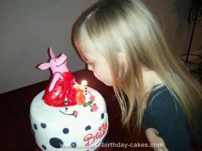 Homemade Olivia Cake