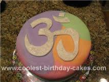 Homemade OM Cake