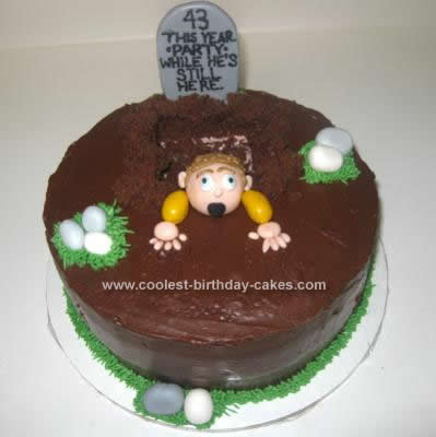 Homemade One Foot in the Grave Cake