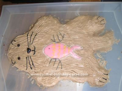 Homemade Otter Cake