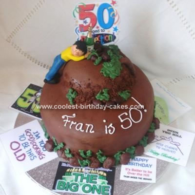 Amazing Coolest Homemade Over The Hill Cakes Funny Birthday Cards Online Aeocydamsfinfo