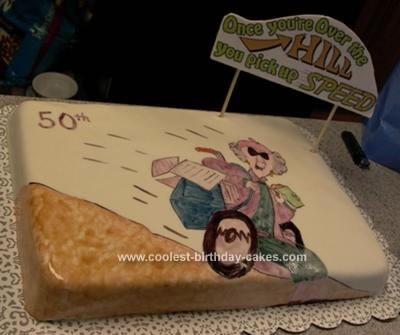 Fine Coolest Homemade Over The Hill Cakes Personalised Birthday Cards Beptaeletsinfo