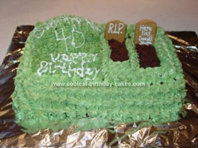 Homemade Over The Hill Cake
