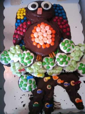 Terrific Coolest Owl Birthday Cake Funny Birthday Cards Online Drosicarndamsfinfo