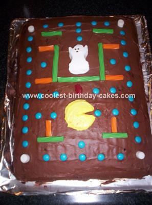 Coolest Homemade Pacman Cakes