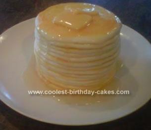 Homemade Pancake Cake