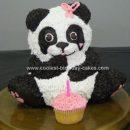 Homemade Panda Bear Party Cake