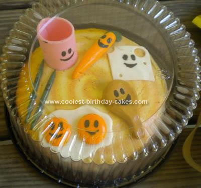 Homemade Party In My Tummy Yo Gabba Gabba Cake