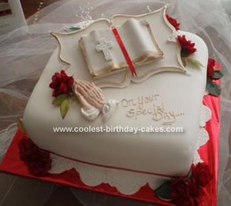 Homemade Pastor Appreciation Cake