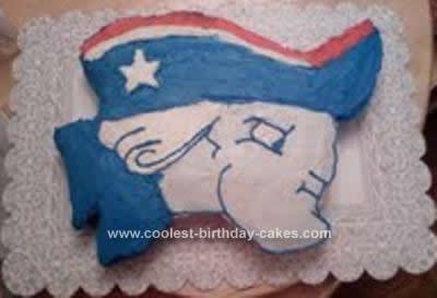 Homemade Patriot Cake