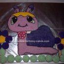 Homemade Petshop Snail Birthday Cake