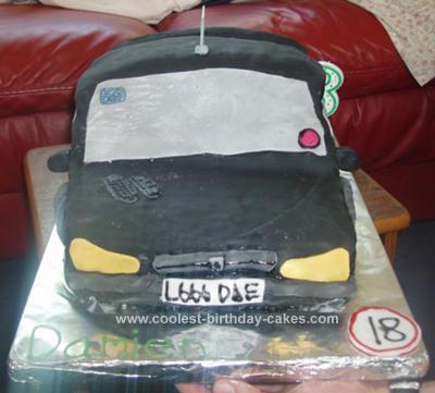 Homemade Peugeot Cake