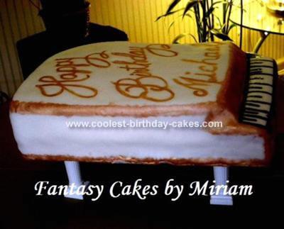 Michael's Piano Cake