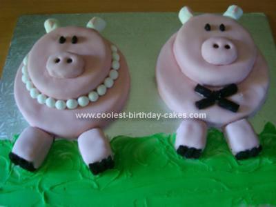 Homemade Piggy Cakes