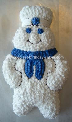 Homemade Pillsbury Doughboy Cake