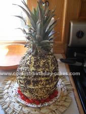 Homemade Pineapple Cake