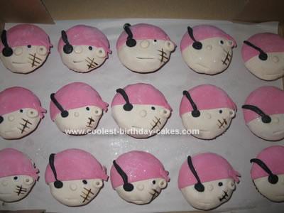 Homemade  Pirate Cupcakes