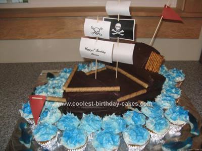 Coolest Birthday Cakes Pirate Ship