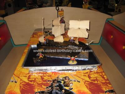 Miraculous Coolest Pirates Of The Carribean Cake Funny Birthday Cards Online Aeocydamsfinfo