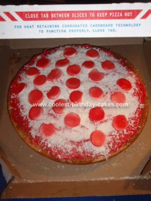 Homemade Pizza Cake