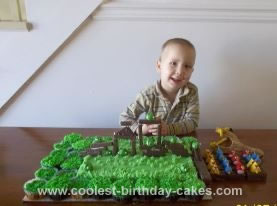 Homemade Playable Angry Birds Cake