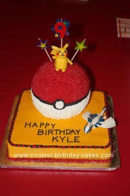 Homemade  Pokemon Cake