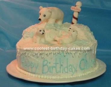 Alaska Polar Bear Cake