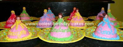 Polly Pocket Cakes