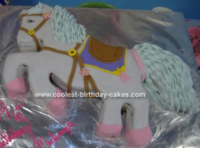 Outstanding Cool Homemade Pony Cake Funny Birthday Cards Online Chimdamsfinfo