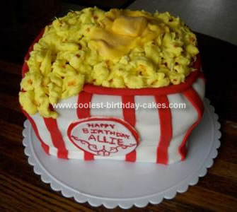 Surprising Coolest Popcorn Birthday Cake Funny Birthday Cards Online Fluifree Goldxyz