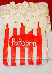 Homemade Popcorn Cake