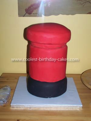 Post Box Cake