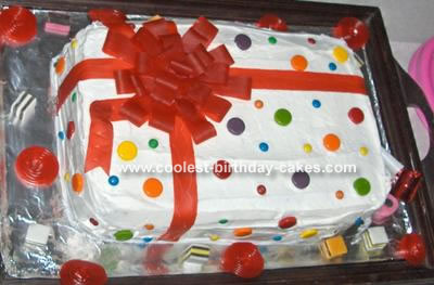Present Party Cake