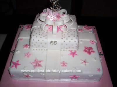 Prime Coolest Prettiest Pink Gift Box Birthday Cake Birthday Cards Printable Giouspongecafe Filternl
