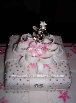 Fine Coolest Prettiest Pink Gift Box Birthday Cake Birthday Cards Printable Giouspongecafe Filternl