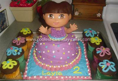 Coolest Pretty Dora Cake