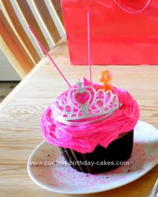 Homemade Pretty Pink Princess Cake