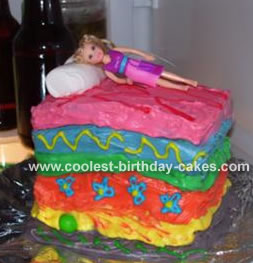 Princess and the Pea Cake