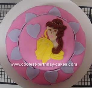 Whitney's Princess Belle Cake