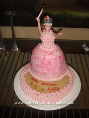Fabulous Coolest Princess Birthday Cake Funny Birthday Cards Online Alyptdamsfinfo