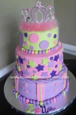 Coolest Princess Cake Design