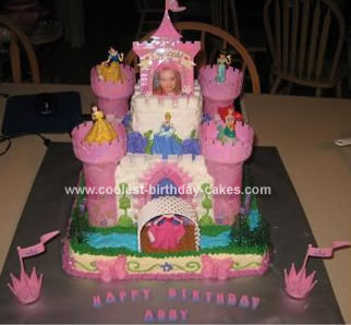 Strange Coolest Princess Castle Birthday Cake Funny Birthday Cards Online Inifodamsfinfo