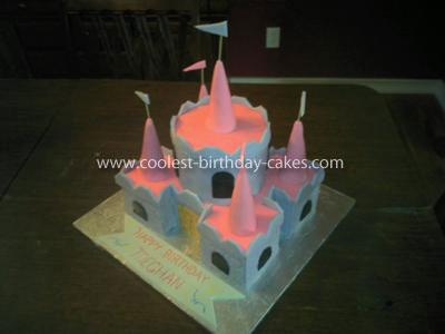 Coolest Princess Castle Birthday Cake